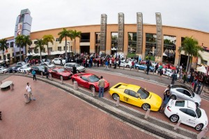 IBV Supercar Club Line Up at Gateway