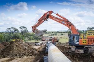 Water Pipeline Infrastructure - Durban