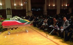 Nat Nasaka - Funeral at Durban City Hall