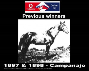 Durban July Winners