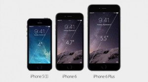 The Difference in Size - iPhones