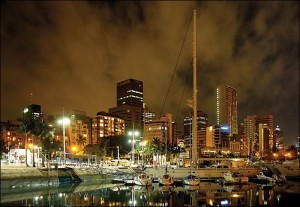 Durban at Night- Pic by Jacek Proniewicz