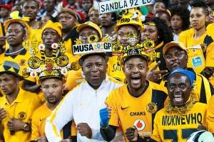 Ecstatic Kaizer Chiefs Fans