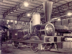 Steam Engine in the Workshop
