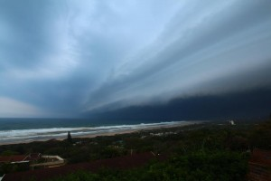 Storm in Illovo Beach - Pic By George Bateman