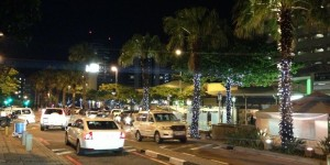 Umhlanga Chartwell Drive at Night