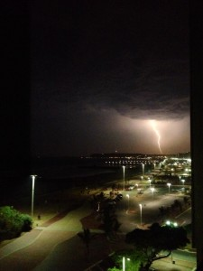 Lightning Storm over Durban last night