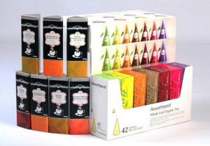 A few of the teas you can find at The Tea Merchant