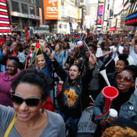 New York Salutes South Africa