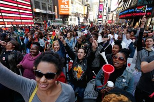 Celebrations Of South African Culture And Music In Times Square New York