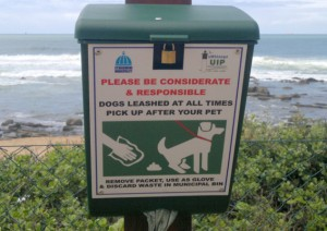 Dispensers for dog owners