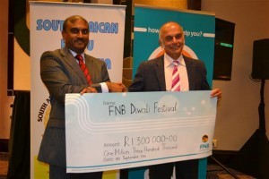 FNB Sponsorship of The Durban Diwali Festival