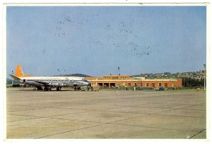 Louis Botha Airport Postcard