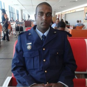 Constable Zaine Sheik has been identified by police as the gunman in yesterday's shooting incident. Pic: Facebook.