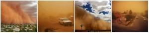Sandstorm in Bloemfontein