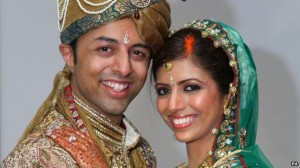 Shrien and Anni On Their Wedding Day