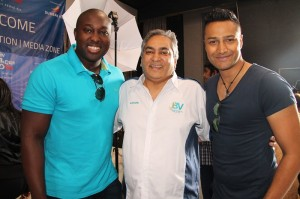 Simba Mhere, Ashok Swenarain and Ashish Gangapersad At The VIP Day Last Year (photo sourced frome www,bereamail.co.za)