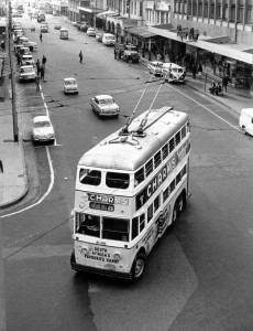 Trolley Bus - Durban Transport