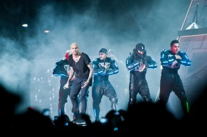 Chris Brown Performing In Durban In 2012 (picture sourced from www.mmstadium.co.za)