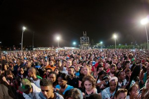 Concert Goers At Browns Previous Concert In Durban (picture sourced from www.mmstadium.co.za)