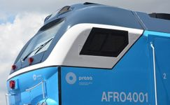 The introduction of the high-powered Afro 4000-series diesel locomotive will improve the efficiency of South African railway networks.