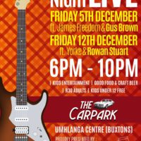 Upmarket – Friday Night Live!