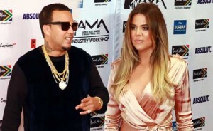 Khloe and French Montana in Durban