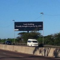 Billboard Causing a Stir in Durban
