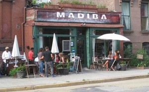 'Madiba' is a restaurant in Brooklyn