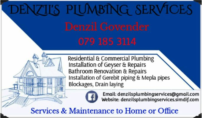 Denzil's Plumbing Services