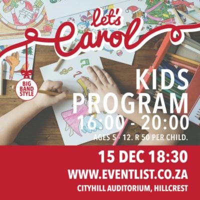 Let's Carol 2018 – 15 December 2018