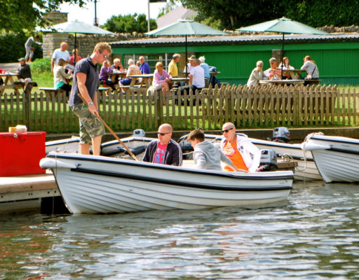 Boat Hire by The Sea